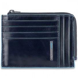 Чехол для кредитных карт Piquadro Blue Square  PU1243B2R/BLU2