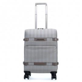 Дорожная сумка Piquadro Move2 серый, голубой текстиль BV3873M2/PRINCE